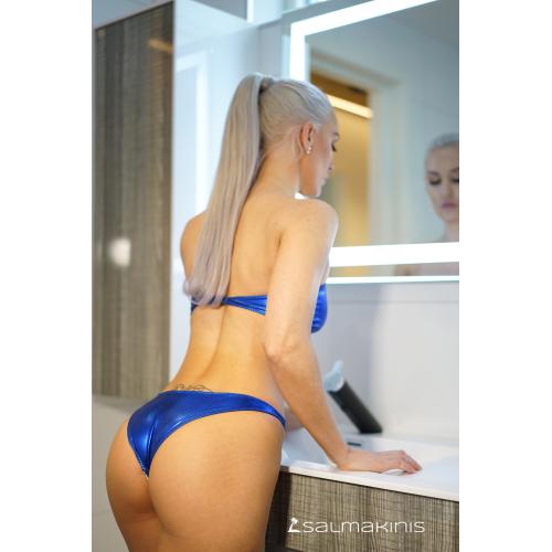 882cc034f1 High Cut Brazilian Bikini Bottom - Salmakinis
